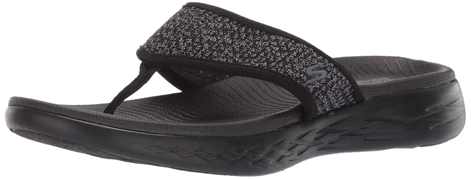 af213a81192f Amazon.com  Skechers Women s On-The-go 600-Glossy Flip-Flop  Shoes