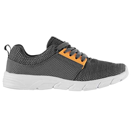 Tela Layup Runner Fashion trainers – Char/mango Zapatillas Deportivas Zapatos, Charcoal/Mango