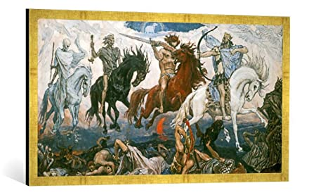 Many Sizes; Four Horsemen Of The Apocalypse An 1887 Painting By Victor Poster