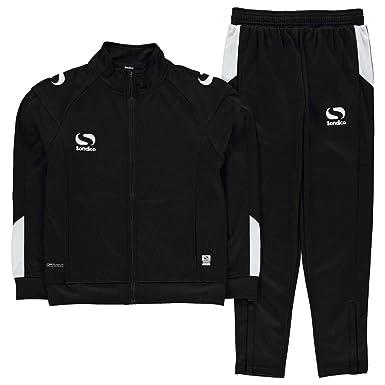 da6d49c54c7 Sondico Kids Strike Tracksuit Long Sleeve High Neck Zip Warm Sports  Training: Amazon.co.uk: Clothing