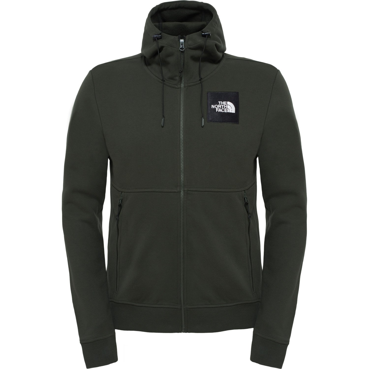 The North Face Herren Fine Full Zip Hoodie Urban Navy