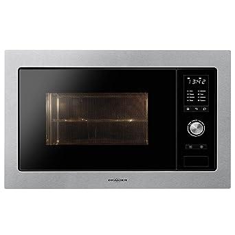Oranier KMG 9802 - 9802 10 empotrable Microondas con grill Acero ...