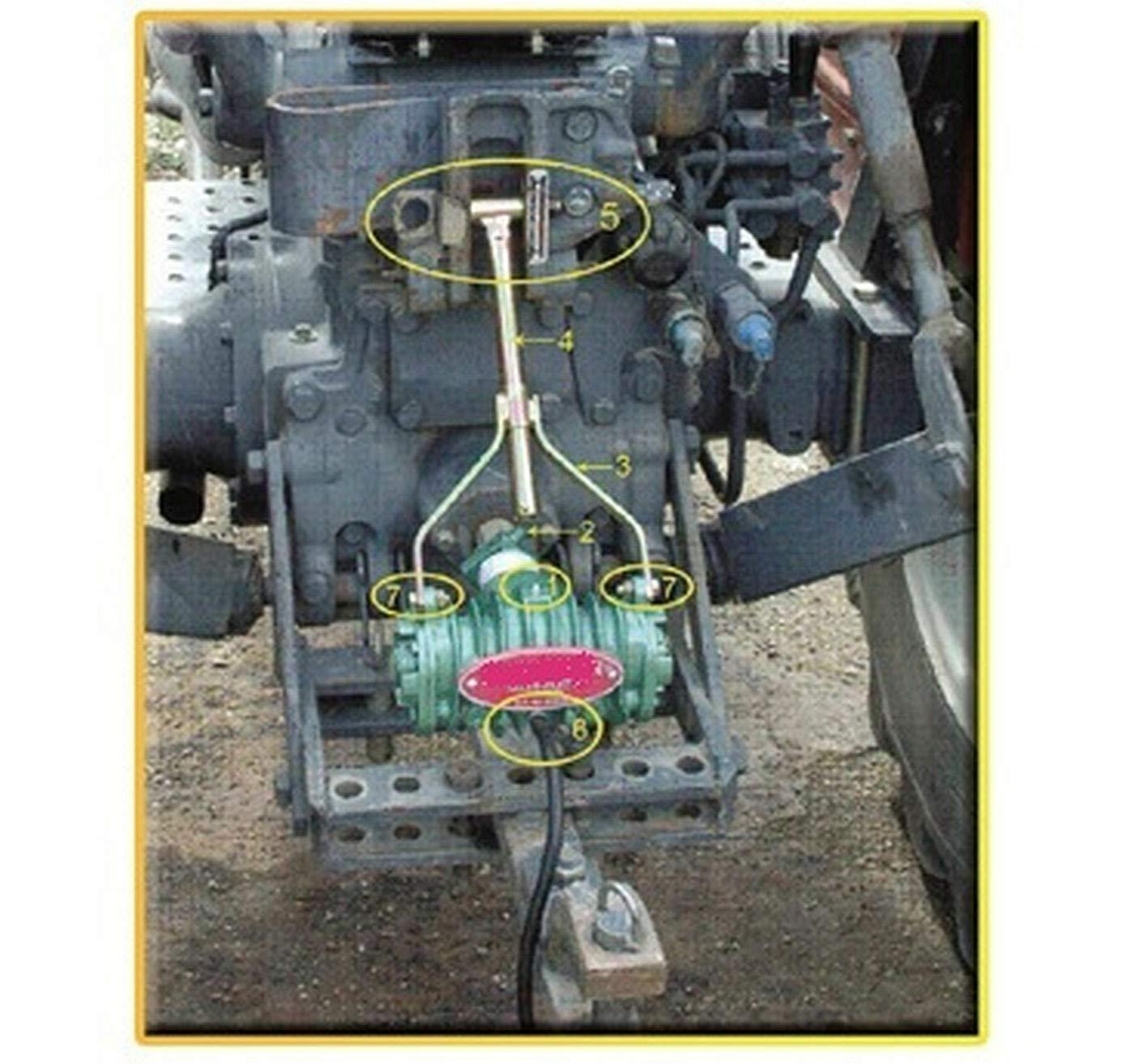 Compresor-portatil-a-la-toma-de-fuerza. Perfecto para inflar las ruedas del tractor en caso de pinchazo en el campo: Amazon.es: Bricolaje y herramientas