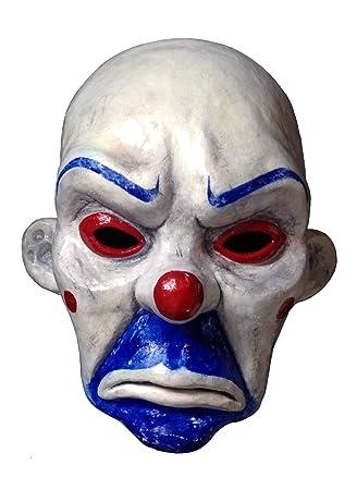 Joker 11 Batman Bank Robber Mask Heath Ledger Prop Replica The Dark Knight Life  sc 1 st  Amazon UK & Joker 1:1 Batman Bank Robber Mask Heath Ledger Prop Replica The Dark ...