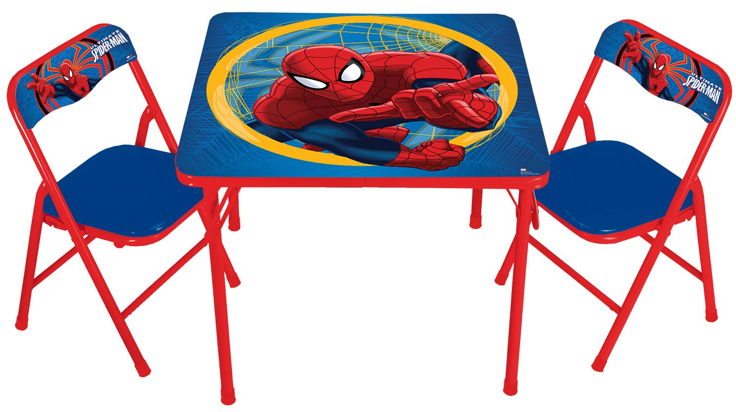 Amazon.com: Marvel Spiderman Activity Table Set: Toys \u0026 Games