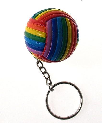 Voleibol llavero deporte ventilador clave cadena regalos de ...