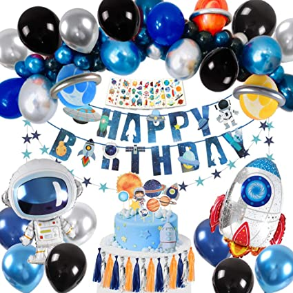 Kids Solar System//Outer Space Birthday Party Supplies Decorations LIK Pin the Mask on the Astronaut Game