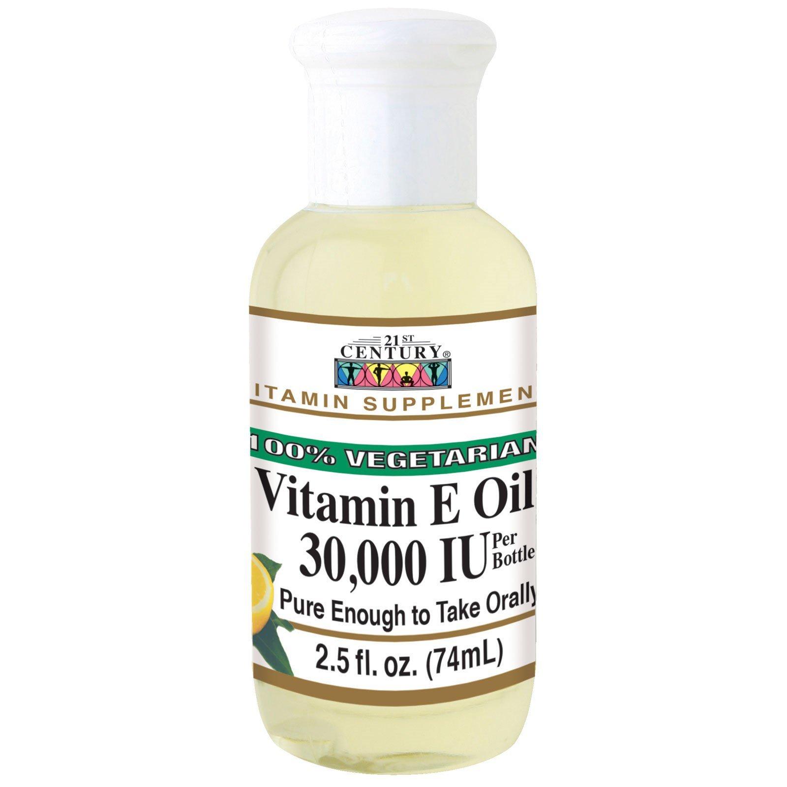 21st Century, Vitamin E Oil, 30,000 IU, 2.5 fl oz (74 ml)