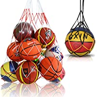 Viesap Bolso de Baloncesto, Voleibol, FúTbol, Bolsa de Almacenamiento con Cordó, Bolso de Malla de Malla de FúTbol con…
