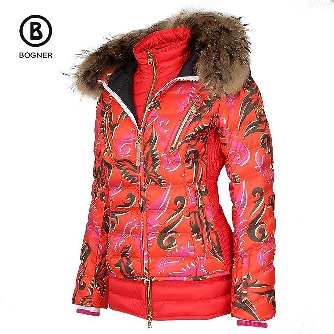 super beliebt neues online Shop Amazon.com: Bogner Calina-D Ski Jacket with Real Fur Womens ...