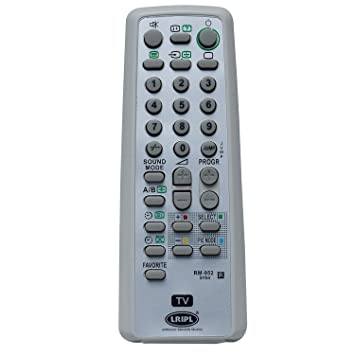 sony tv model number. sony tv remote (for all crt models) sony tv model number