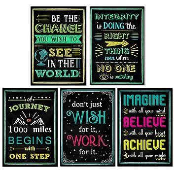 Vosarea Inglés Inspirador Pintura Motivacional Carteles Para