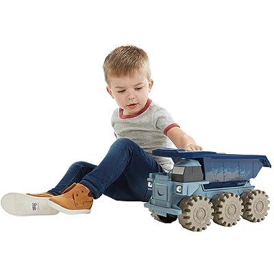 Mattel Fisher-Price fdc05 - Bob el Constructor Mega rumms Gigante npedales Vehículo: Juguetes y juegos