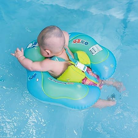 Delaman Anillo De Natación para Bebé Flotador De Natación Inflable Libre, Accesorios Piscina Cintura para Niños Juguetes para Bañera y Piscinas Swim Trainer ...