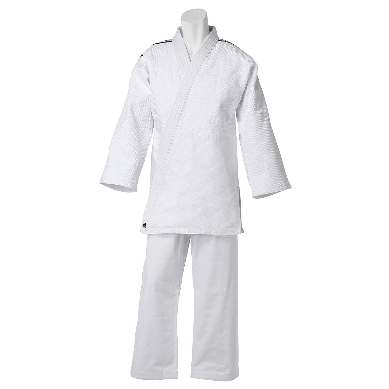 adidas(アディダス) 柔道着(上下セット 帯なし) J650SP B07P5D2D19 White Black(011) 160