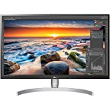 "LG 27UL850-W 27"" UHD 4K IPS Monitor, 5ms (GTG), HDMI, USB-C, HDR, Screen Split, Ergonomic Stand, Speaker, White"