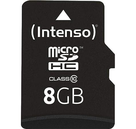 Intenso 3413450 Micro Tarjeta de Memoria SD 4 GB Grado 10 ...