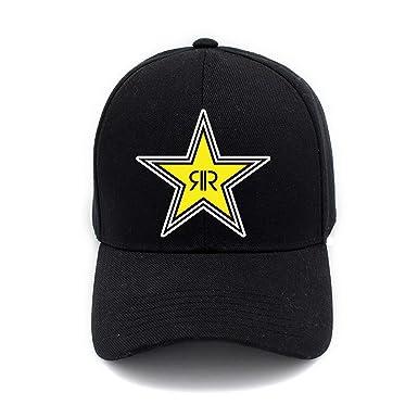 Fashion Rockstar Energy Drink Logo Print Hat Cap Unisex Men Women ...