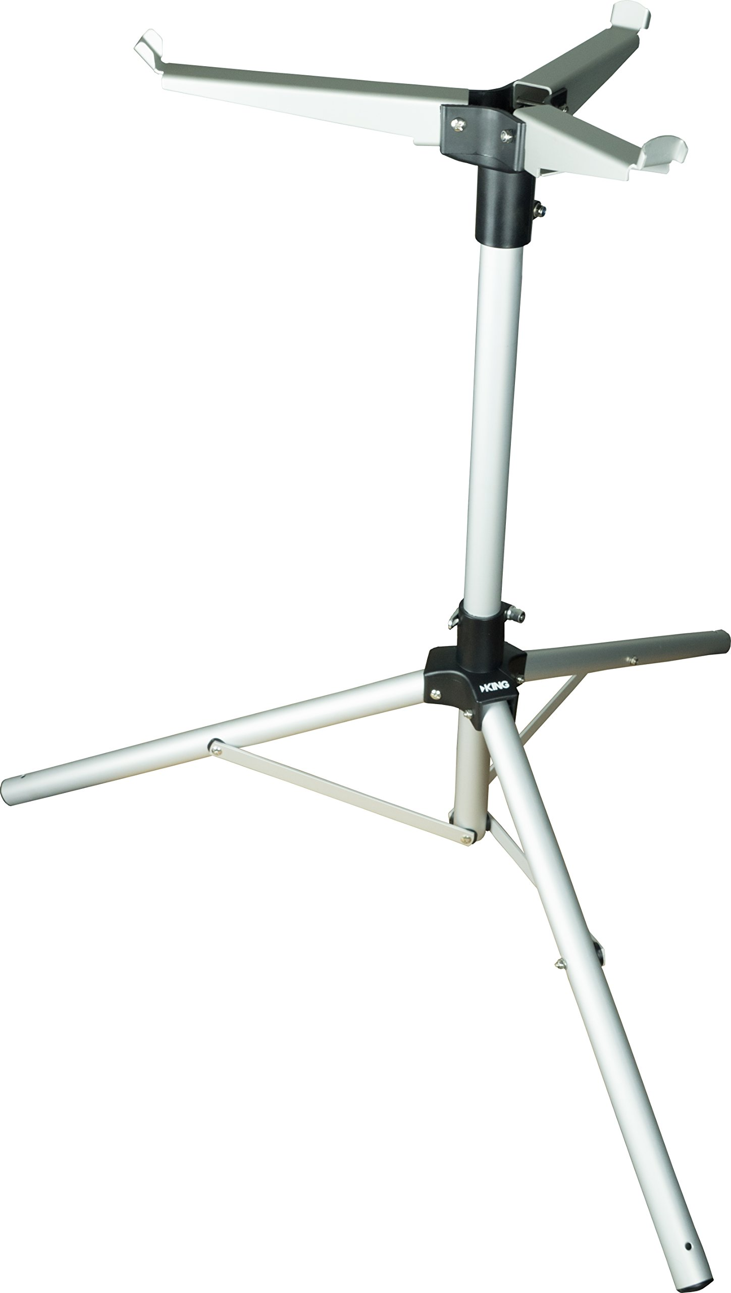 KING TR1000 Tripod Mount for Tailgater (VQ4400 & VQ4500) and Quest (VQ4100) Portable Satellite Antennas