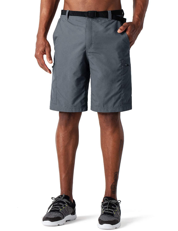 Pantal/ón de T/érmica Acampada Campismo Marcha Nailon Ligero Secado R/ápido NAVISKIN Pantalones Cortos de Senderismo UPF 50 para Hombre