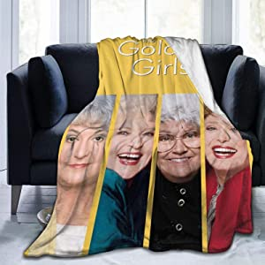 KANBGMTR The Golden Girls Blanket Ultra-Soft Micro Fleece Blanket Home Decor Warm Anti-Pilling Flannel Throw Blanket for Couch Bed Sofa