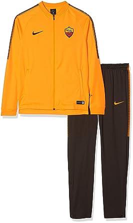 Nike Roma Y Nk Dry Sqd TRK Chándal, Unisex niños: Amazon.es: Ropa ...