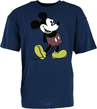 Mickey Mouse T-Shirt Heads allover-print Größe S-XL Disney unisex shirt Mickie