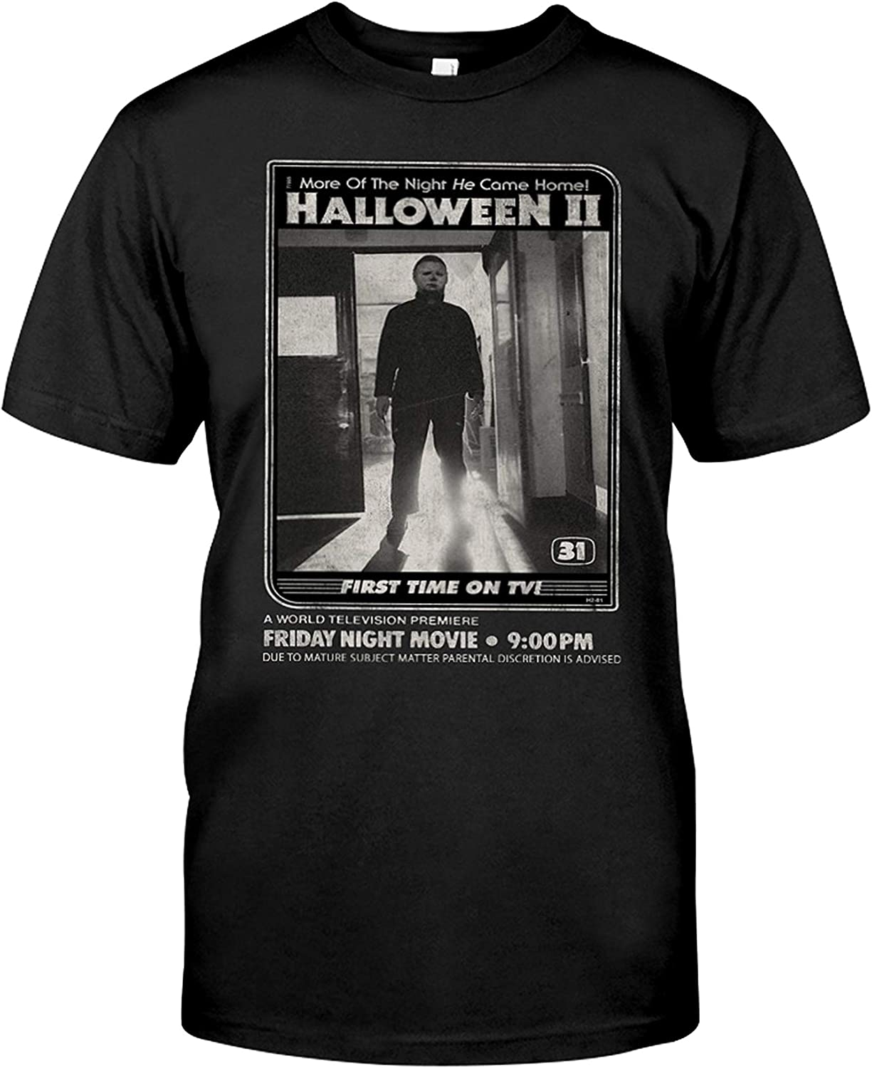 More of The Night He Came Home Halloween First Time On TV Michael-Myers Shirt