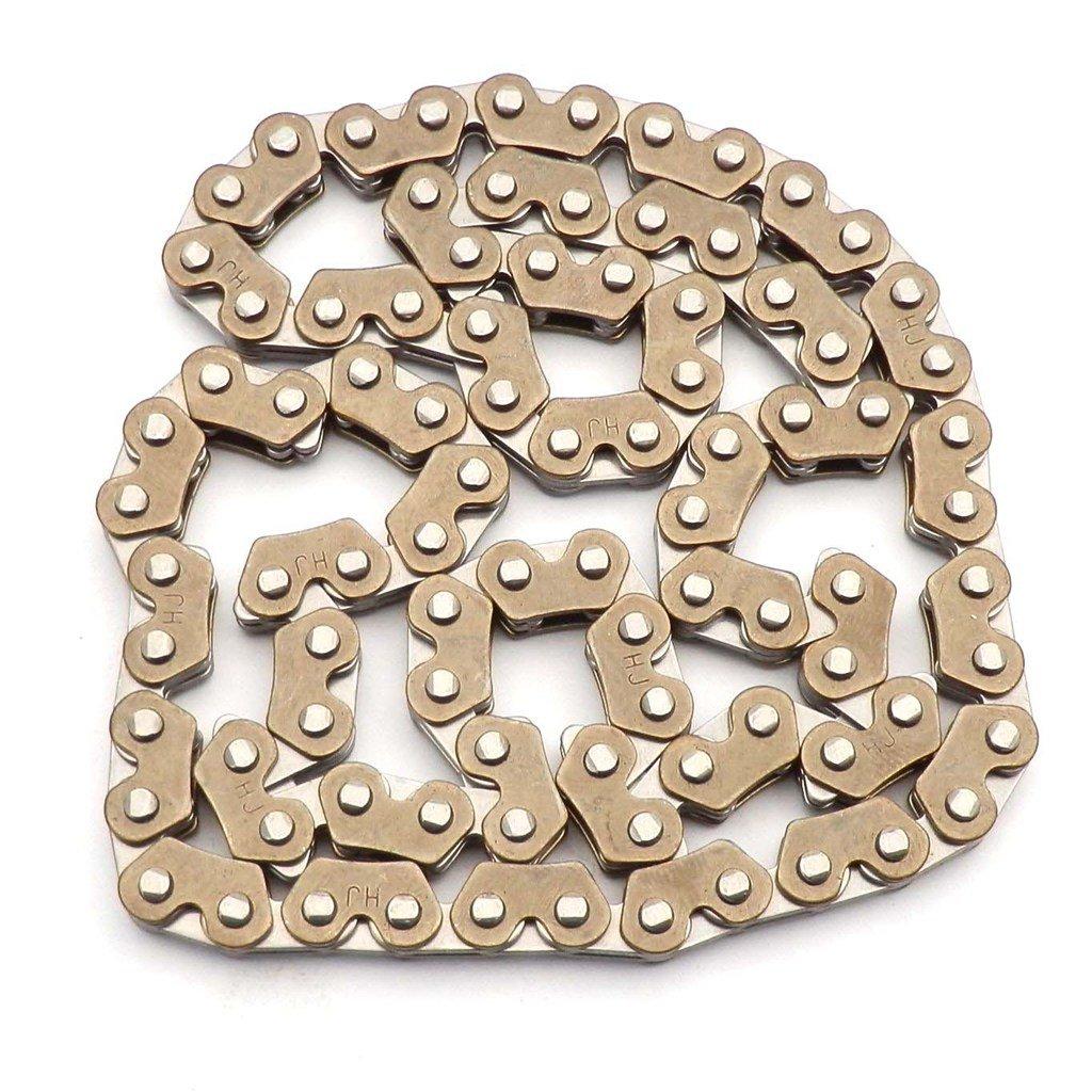 yunshuo GY6/Timing Gu/ía de cadena /& calendario cadena y cadena de la bomba de aceite patinete 125/cc 150/cc motor