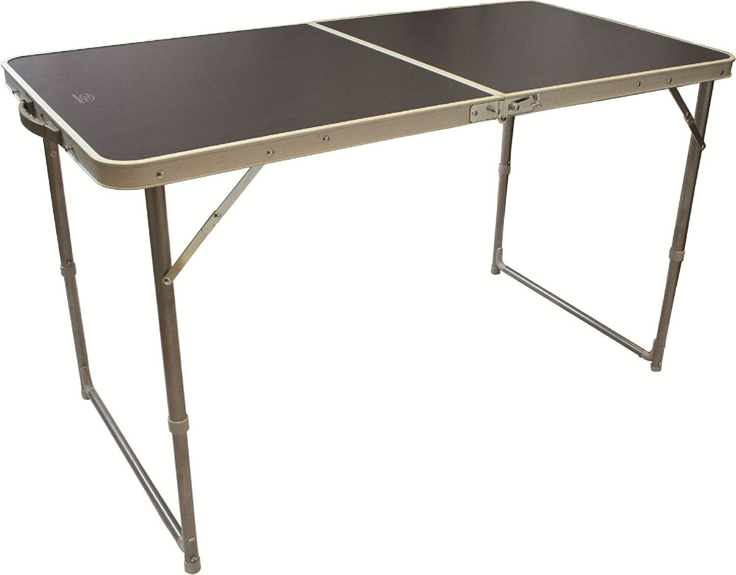 Highlander Compact Folding MDF Camping Table Double