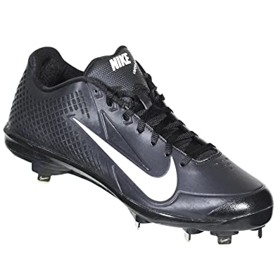 NIKE ZOOM VAPOR ELITE BB METAL BLK/WH MENS METAL BASEBALL CLEATS US 14 M