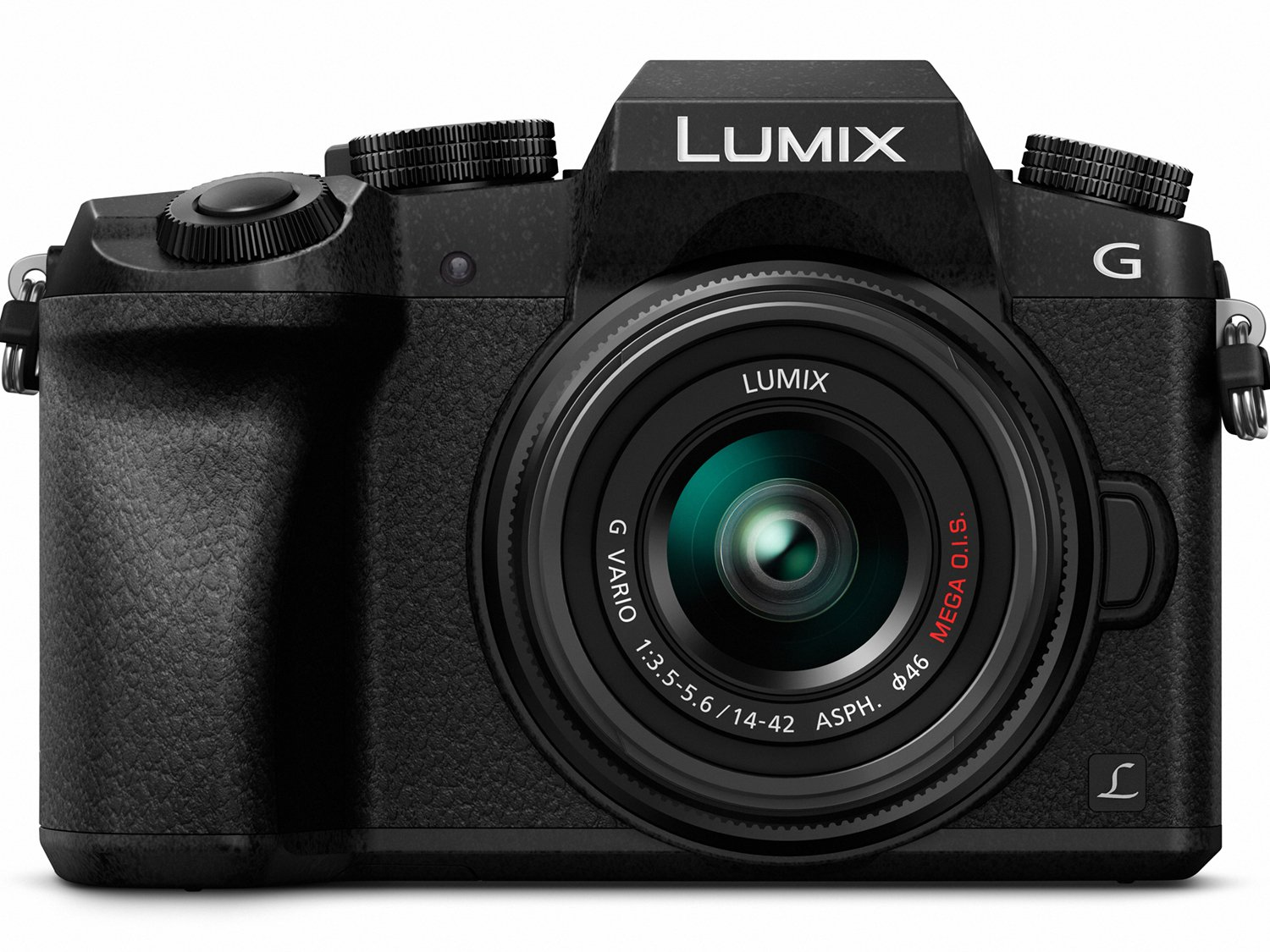 PANASONIC LUMIX G7 4K Mirrorless Camera, with 14-42mm MEGA O.I.S