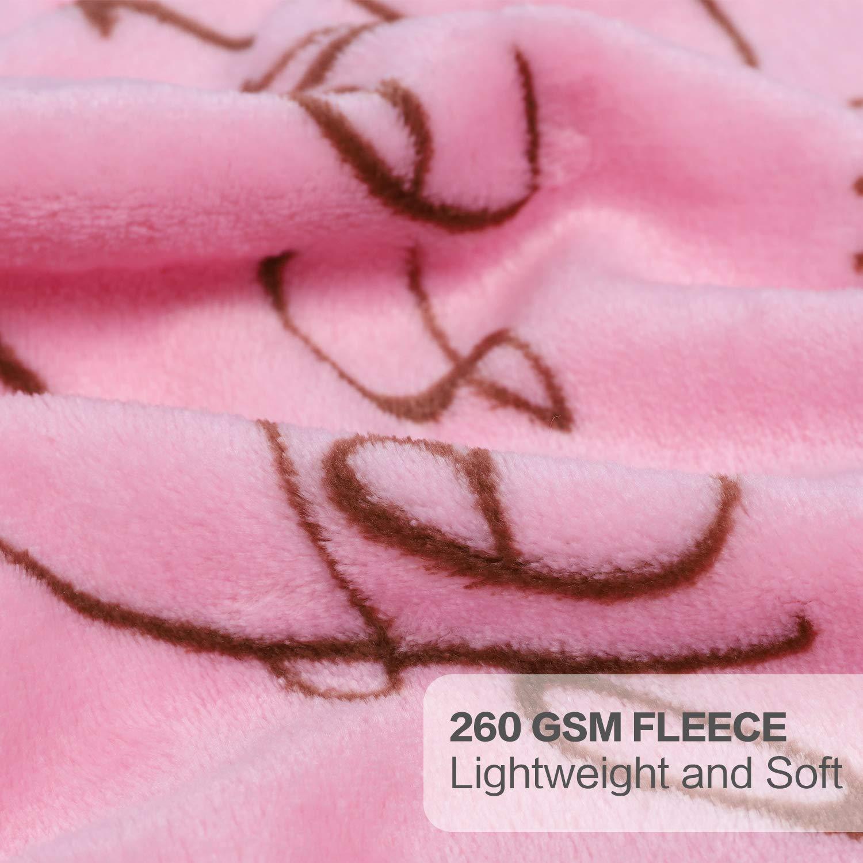 39x47 Navy Deer 100/% Microfiber Polyester TILLYOU Breathable Toddler Fleece Blanket Plush Baby Blanket for Boys Girls Kids Bed Crib Blanket Super Soft Warm Cozy Fuzzy Daycare Nap Blanket