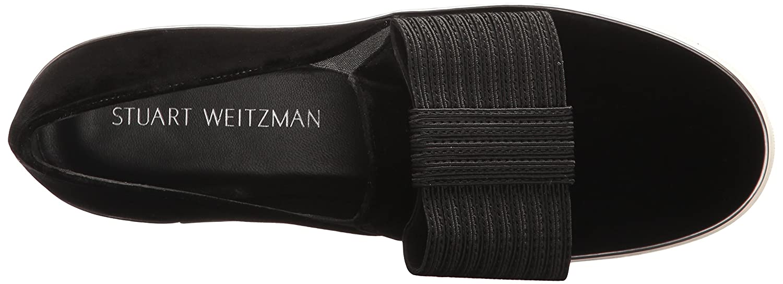 Stuart Weitzman Women's Bowgal Sneaker B01MG2IKK3 11.5 W US|Black