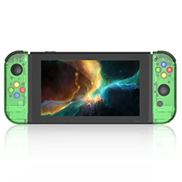 BASSTOP [Update Version] NS Joycon Handheld Controller Housing DIY  Replacement Shell Case for Nintendo Switch Joy-Con (L/R) Without