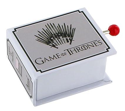 Caja de música de manivela de cartón en forma de libro - Tema de Juego de