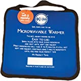"""K&H Pet Products Microwavable Pet Bed Warmer Blue 9"""" x 9"""""""
