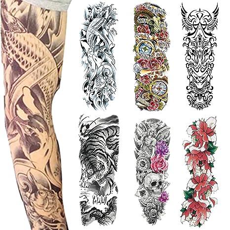 Tatuaje Temporal De Brazo Completo 6 Fotos Para Tatuaje De Brazo