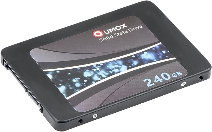 QUMOX SSD de 240 GB Interna de Estado sólido de Unidad SATA III de ...