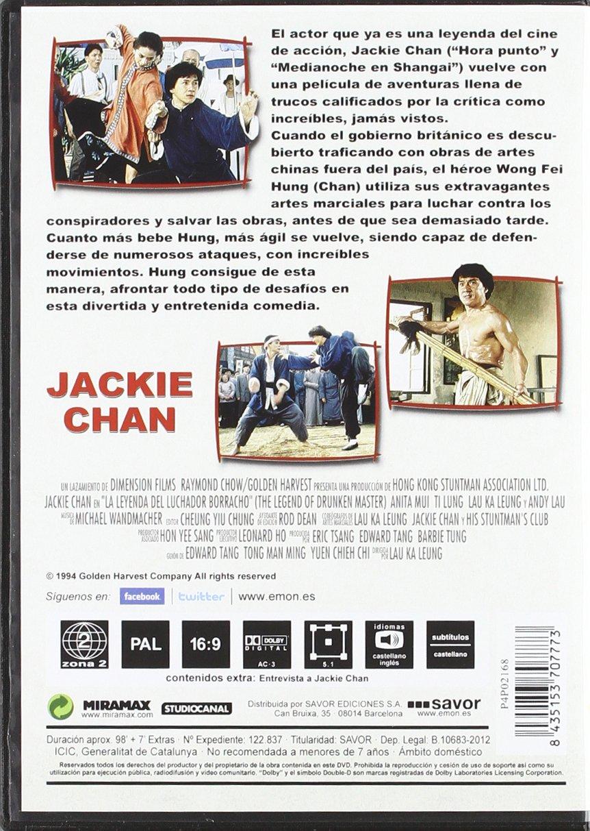 La Leyenda Del Luchador Borracho Dvd Amazon Es Jackie Chan Anita Mui Ti Lung Felix Wong Chia Liang Liu Ken Lo Chia Liang Liu Jackie Cha Jackie Chan Anita Mui Cine Y Series Tv