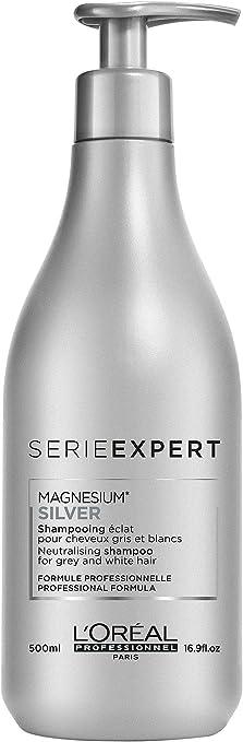 123 opinioni per L'Oreal Professional Silver Shampoo, confezione da 1 (1 X 500 ml)