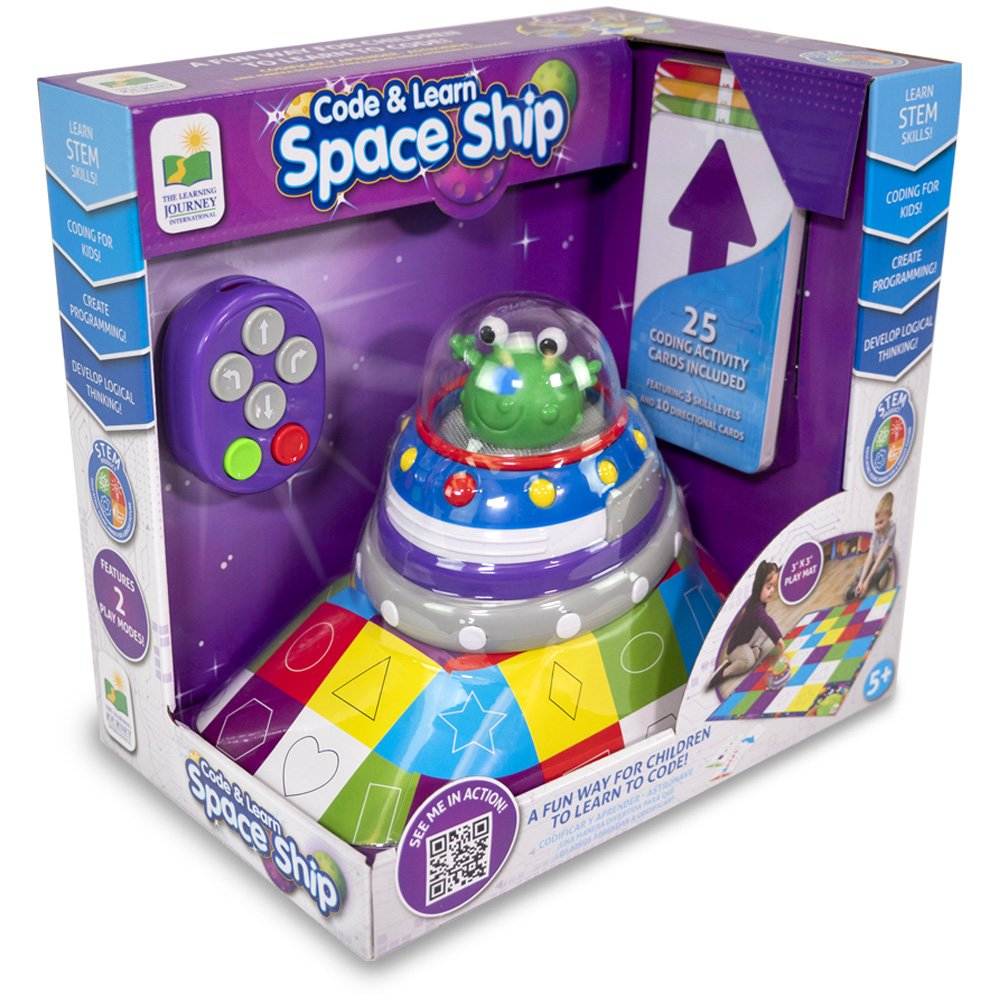 The Learning Journey Code and Learn Space Ship