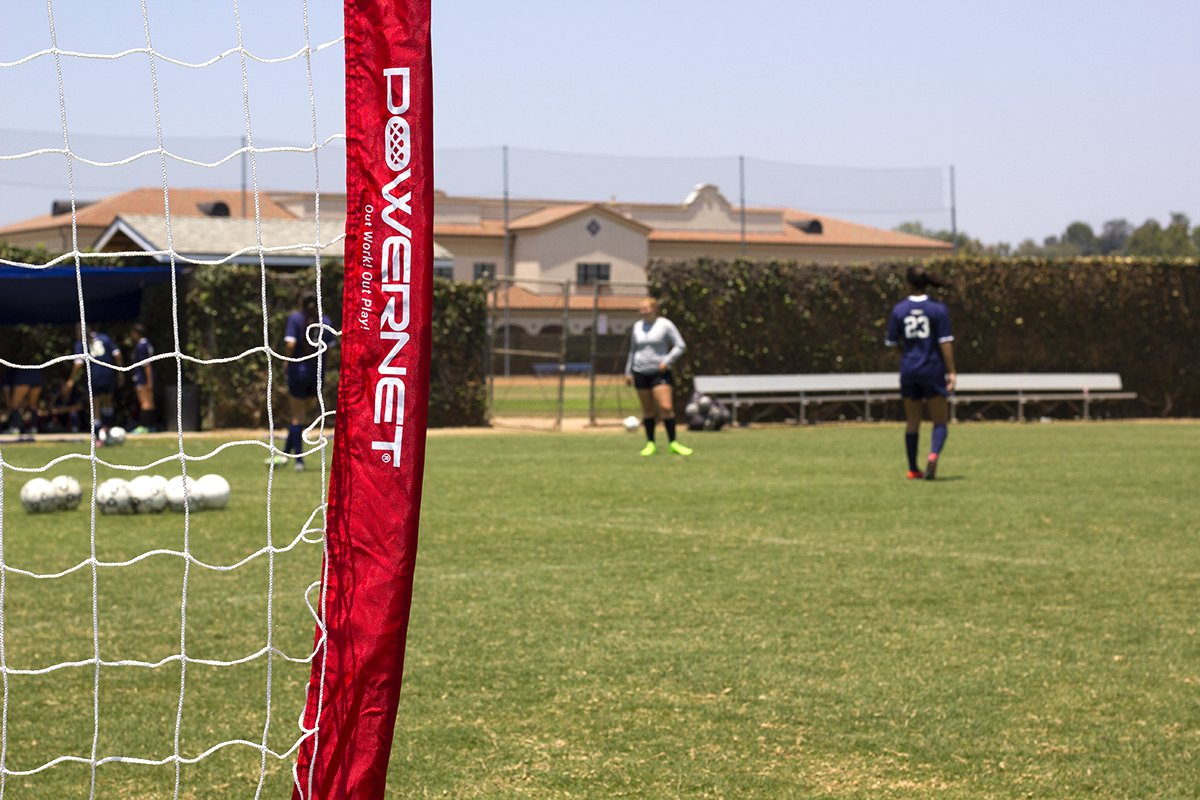 PowerNet Soccer Goal 14x7 Portable Bow Style Net by PowerNet (Image #7)