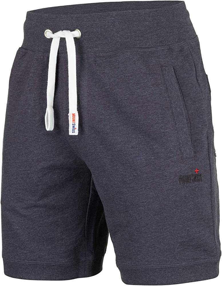 Mount Swiss Luca - Pantalones Cortos para Hombre, 100% algodón ...