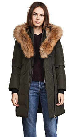 f35952e59 Amazon.com: Mackage Women's Trish Parka: Clothing