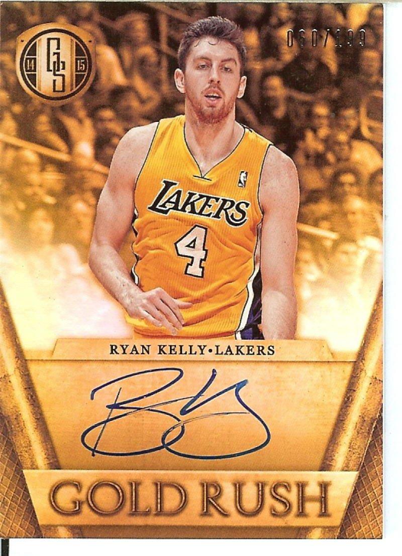 Basketball NBA 2014 15 Gold Standard Gold Rush #8 Ryan Kelly 60 199 Lakers
