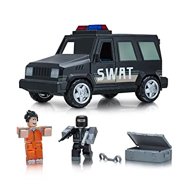 Roblox Action Collection - Jailbreak: SWAT Unit Vehicle [Includes Exclusive Virtual Item]: Toys & Games