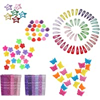 Butterfly Hair Clips 164pcs with Bobby Pins Decorative and Mini Hair Claw Clip Hair Bangs Barrettes for Baby Girls…