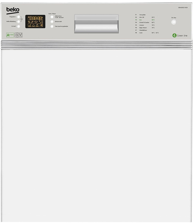 Beko DSN 6832 FX30 - Lavavajillas (Semi-incorporado, Acero ...