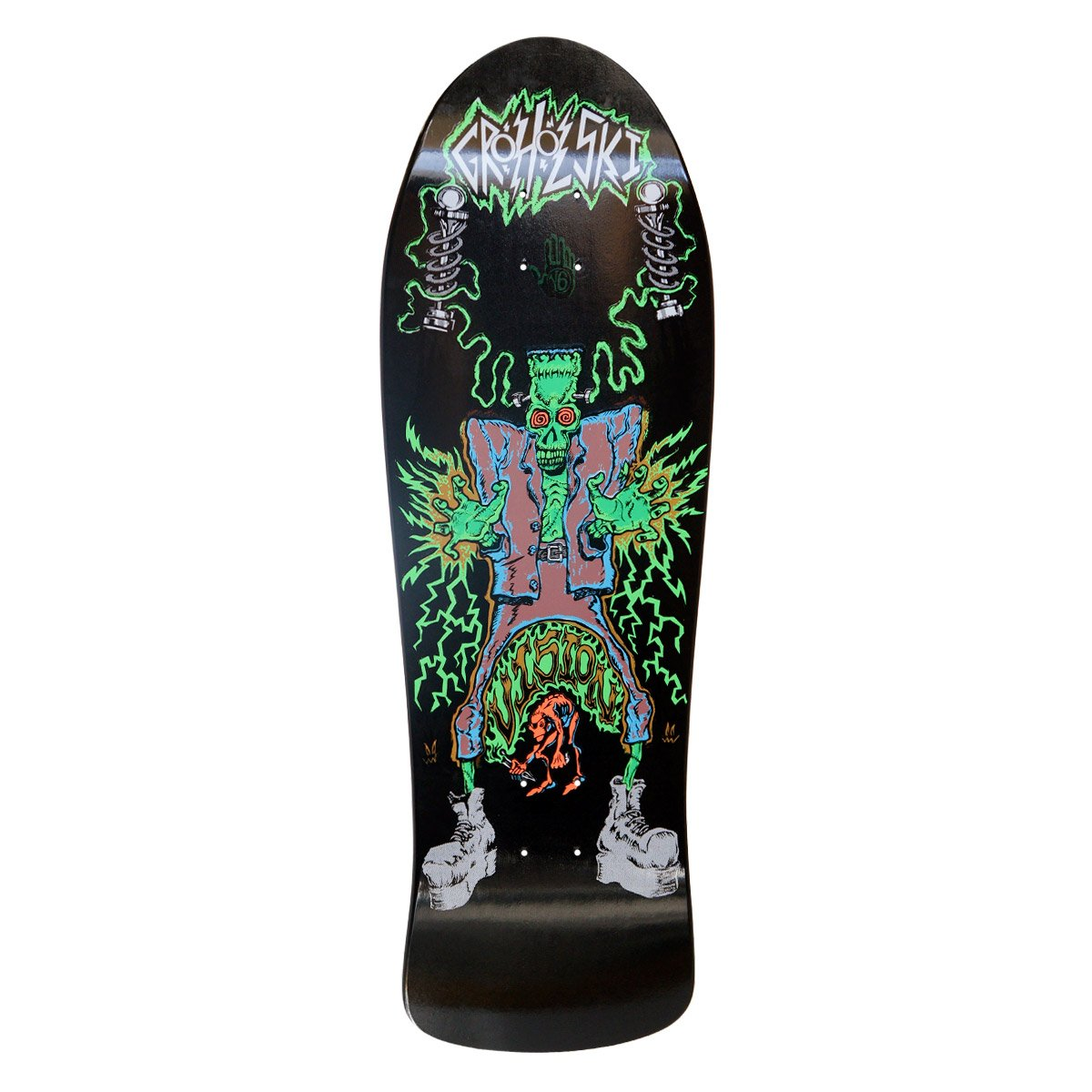 Vision groholski Frankenstein Neuauflage Skateboard Deck 26  x 79, 4  cm Orange BD0V26-orange